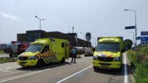 Scooterrijder gewond na botsing met auto nabij Maastricht Airport