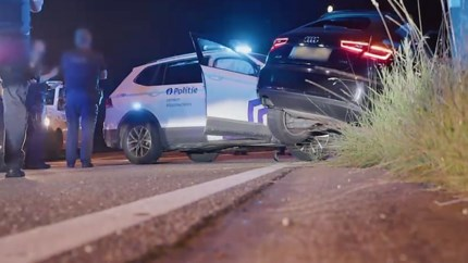 Vrouw uit Beek (27) gebruikt lachgas tijdens achtervolging, drie Belgische agenten gewond