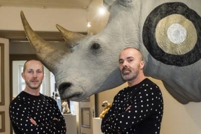 Duo Les Deux Garçons maakt kunstwerk over de trots van Heerlen