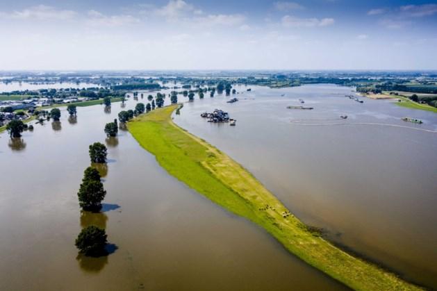Hoogwatergolf bijna het land uit