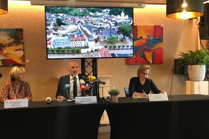 Totale schadebedrag Valkenburg bedraagt 400 miljoen euro; verzekeraars vergoeden ook schade door overgelopen waterbuffers