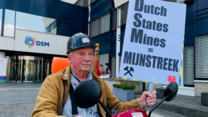 Heerlen voelt zich verraden door DSM; boosheid groot tijdens bescheiden protestactie
