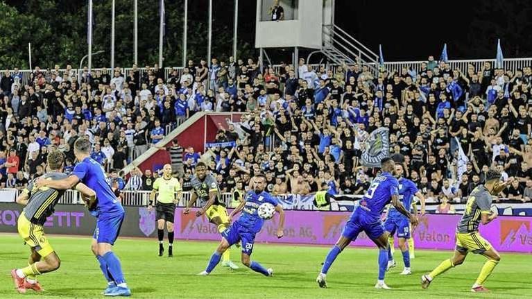 Feyenoord komt in Kosovo niet verder dan bloedeloos gelijkspel