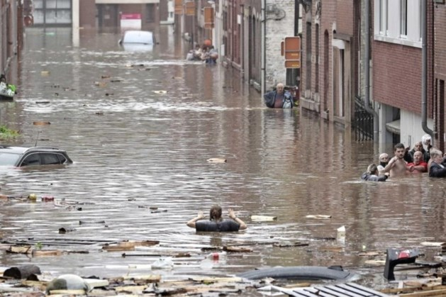 Dodental watersnood België naar 37, bijna alle vermisten gevonden
