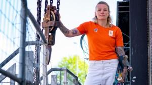 Skateboardster Candy Jacobs: 'Mijn hart doet pijn, maar ik kom hier doorheen'