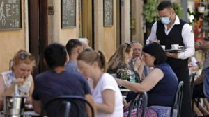 Verplichte coronapas voor restaurants en bars in Italië