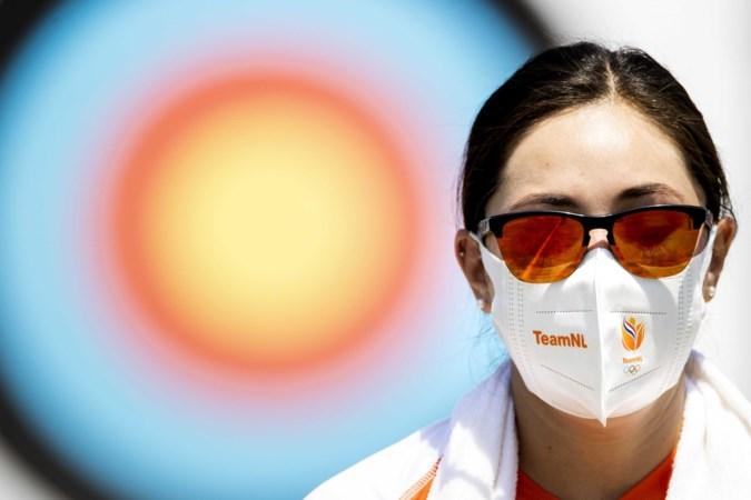 Met hotline naar grote liefde Mike in Nuth schiet Gabriela Bayardo eerste pijlen in Tokio