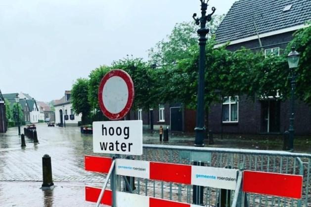 Alle wegen in Roerdalen weer open na wateroverlast