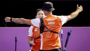Eerste Nederlandse medaille Limburgs gekleurd: zilver voor handboogschutters Gabriela Schloesser en Steve Wijler