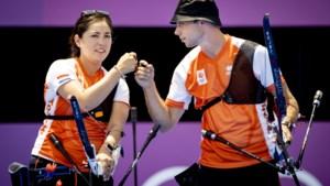Handboogschutters Gabriela Schloesser en Steve Wijler overtuigend naar kwartfinales
