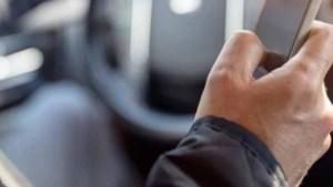 Toename aantal overtredingen met mobiele telefoon in het verkeer in Nederweert, Weert en Leudal