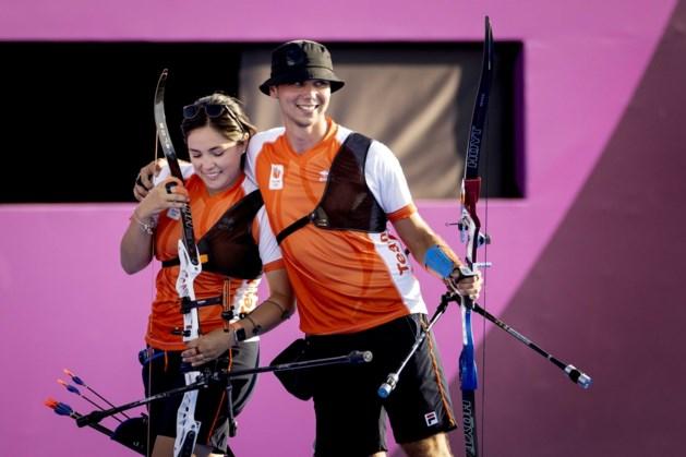 Gabriela Schloesser-Bayardo en Steve Wijler trots op zilveren plak