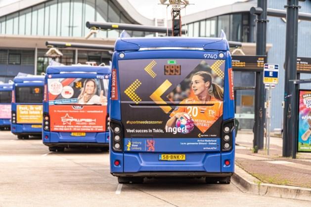 Sittard-Geleen moedigt olympiërs aan op Arrivabussen