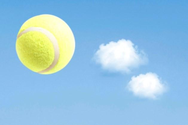 Tennis met introducé in Reuver bij Thuisblijverstoernooi