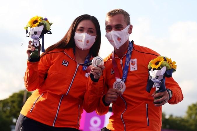 Limburgs duo zorgt voor primeur: nooit eerder pakte Nederland olympisch zilver bij het handboogschieten