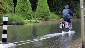 Wateroverlast door stortbuien in Friesland