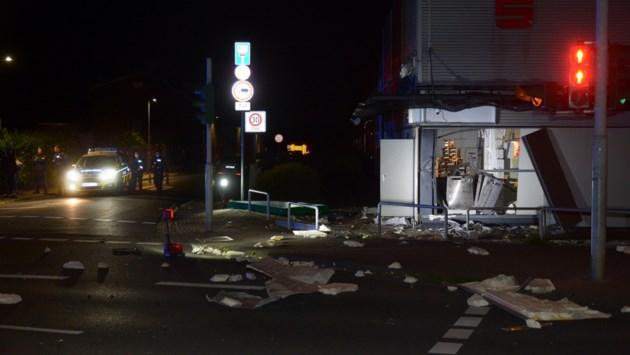 Plofkraak in Viersen, geldautomaat vernield
