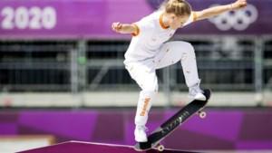 13-jarige Japanse wint goud bij het skateboarden, net geen medaille Zwetsloot