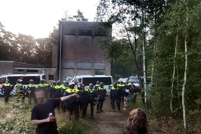 Ontruimde illegale raveparty in Herkenbosch: 'Het geeft een kick. Ik had behoefte om te feesten'