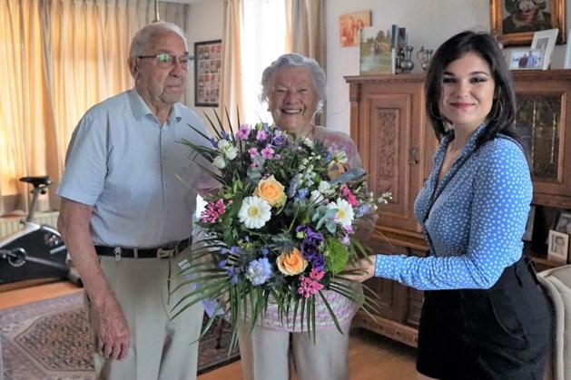Speciaal Bleumke vaan Geluk voor briljanten echtpaar uit Horst