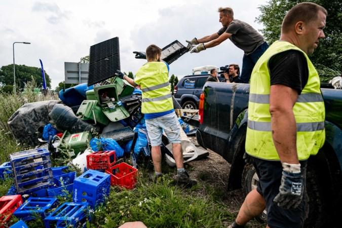 Eerste opruimacties Natuurmonumenten langs de Maas achter de rug