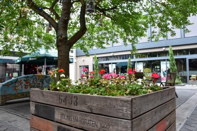 Bloembakken geven Morenhoek in Heerlen-centrum extra kleur