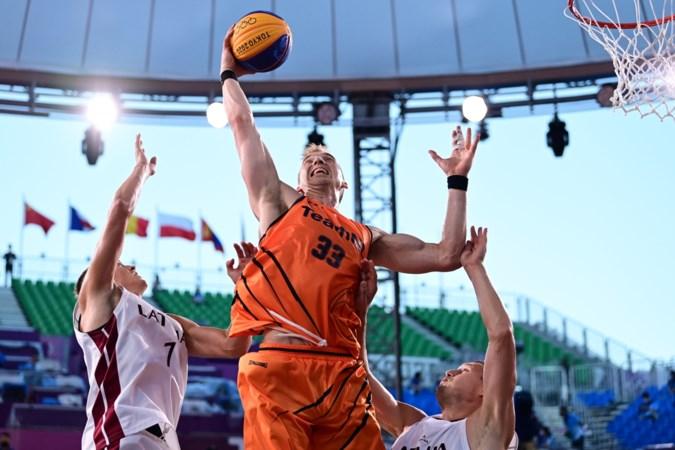 """Olympische droom van basketballers spat uiteen: """"We hadden graag nog meer kids willen laten zien dat dit veel meer is dan alleen een straatballetje gooien"""""""