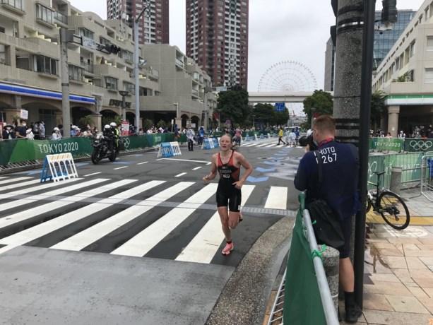 Klamer na eindsprint knap vierde op triatlon, Kingma strandt op elfde plek
