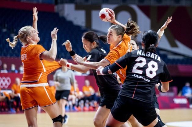 Handbalsters winnen doelpuntrijk duel van Zuid-Korea