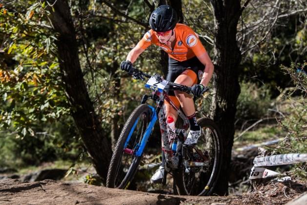 Geen medaille bij mountainbike vrouwen, volledig Zwitsers podium