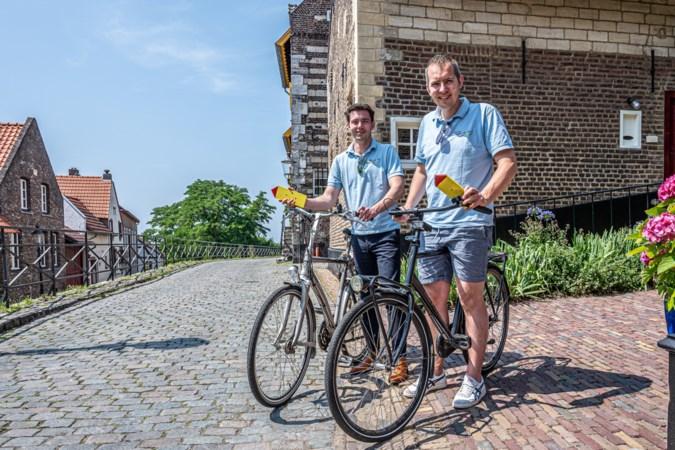 Jonge carnavalisten uit Elsloo verzorgen wederom fietstocht voor jong en oud door de streek