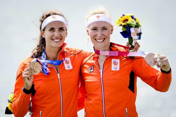 Roeister Lisa Scheenaard van reserve in Rio naar medaillewinnares in Tokio: 'Hoefden voorzet alleen maar in te koppen'