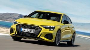 Audi S3 zit vast in de 'friendzone'