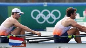 Roeiers Twellaar en Broenink winnen olympisch zilver in dubbeltwee