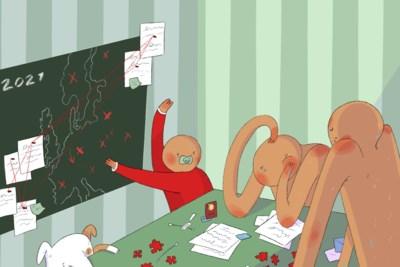 Prikken, testen, registreren: op vakantie met dubbel zoveel stress
