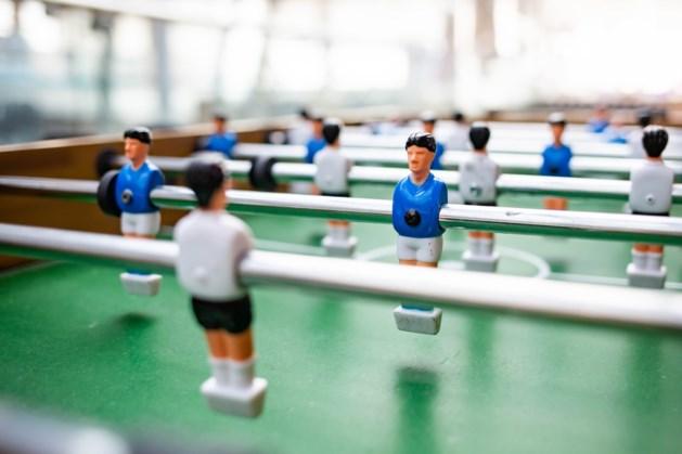 NK tafelvoetbal in Maaslandcentrum Elsloo