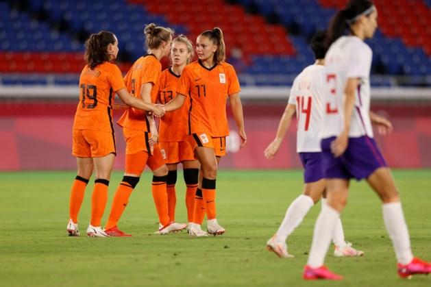 Oranje Leeuwinnen in kwartfinale tegen Verenigde Staten na klinkende zege op China