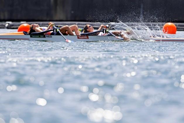 Na misslag grijpen roeisters Keijser en Paulis naast olympisch goud: brons voor lichte dubbeltwee