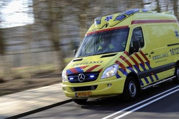 Ongeval met twee vrachtwagens op A73