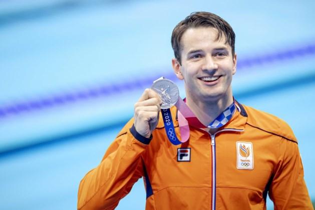 Zwemmer Arno Kamminga pakt ook olympisch zilver op 200 school: 'Om te winnen, moet je durven'
