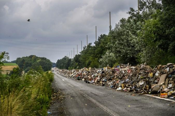 Zoeken naar menselijke resten op spooksnelweg boven Luik