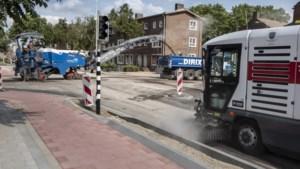 Druk Roermonds kruispunt vier dagen afgesloten vanwege werkzaamheden