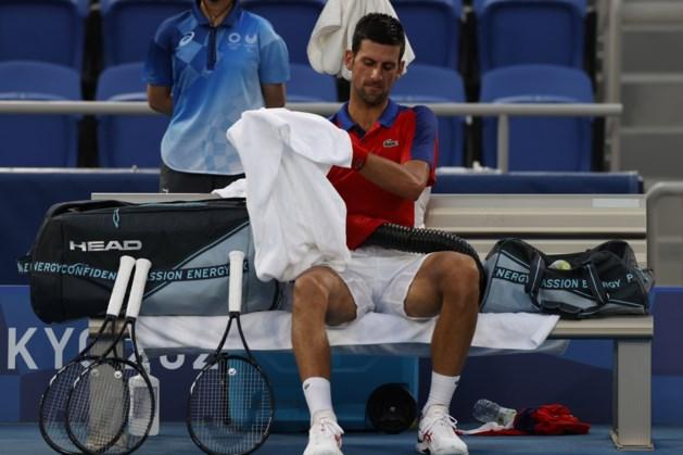 Novak Djokovic geklopt in halve finale, kans op zeldzame Golden Slam verkeken