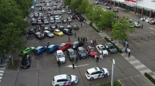 Politie maakt opnieuw einde aan autotreffen in Venlo