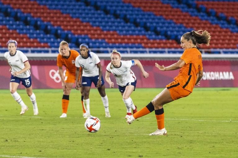 Oranje Leeuwinnen na slijtageslag en penalty's uit olympisch toernooi
