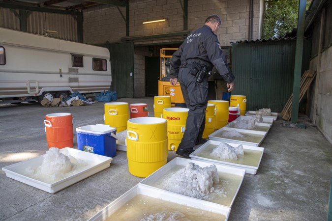 Breaking Bad XL: enorm lab voor crystal meth in voormalige fruitkwekerij Nederweert