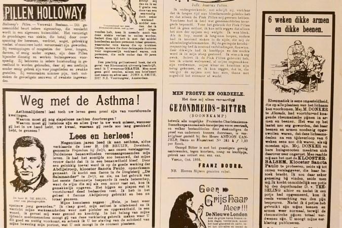 'Bestel nu pillen voor een grote boezem': wat 175 jaar advertenties ons vertelt over het dagelijks leven