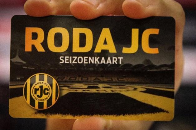 Nieuw pasje voor seizoenkaarthouders Roda JC; afhalen kan vanaf maandag 2 augustus