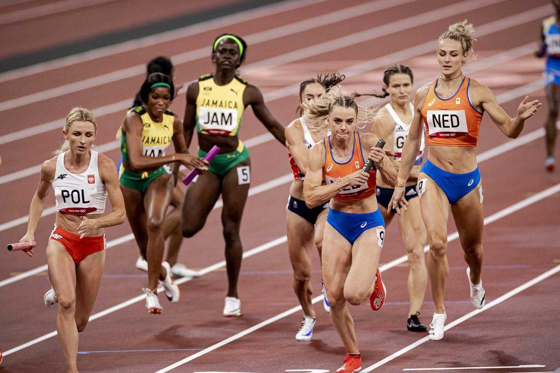 Nederlands protest tegen deelname VS in finale 4×400 gemengd
