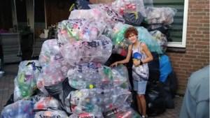 Flessenactie 8-jarige Fabian uit Berg levert 2319,60 euro op voor slachtoffers waterramp